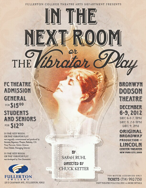 "FCC Presents ""In The Next Room or The Vibrator Play"