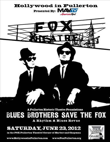 Blues Bros. Save The Fox