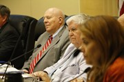 Council Members hear public statements in response to city handling of the Kelly Thomas incident.